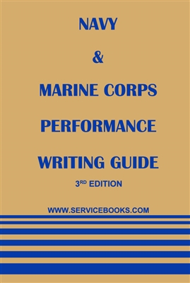 Fitness report writing guide for Marines